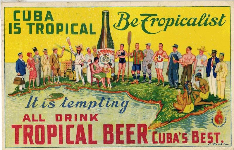 cuba tropical beer ad