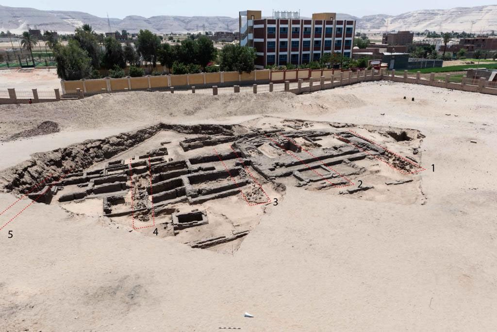 ancient egyptian brewery