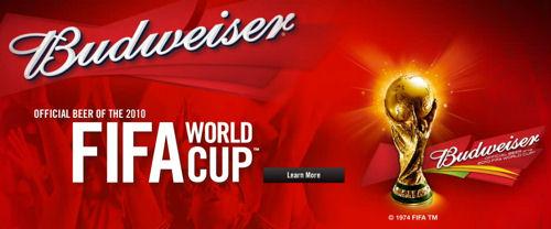 Bud Sponsors 2010 FIFA World Cup